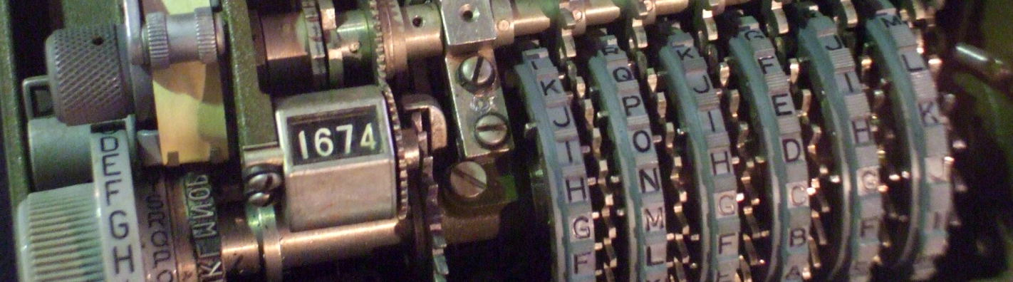 M-209 cipher machine.