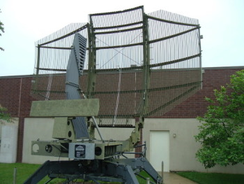 Radar dish at electronics museum near BWI airport.