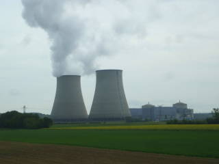 French nuclear power plant.