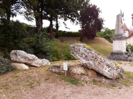 Megalithic structure near Giverny in Upper Normandy.