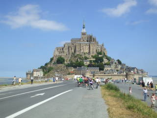 The Abbey of Mont-Saint-Michel.