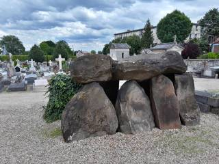 Megalithic structure in the Paris suburbs.