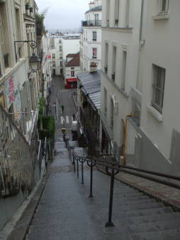 Montmartre, location of the movie 'Ronin'.