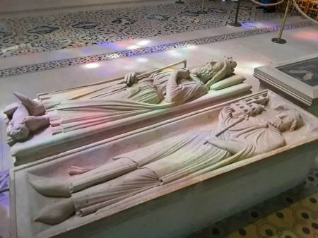 Basilica of Saint-Denis, the French royal necropolis.