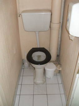 French toilet.