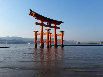 Itsukushima Shrine near Hiroshima