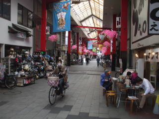 Covered markets near Sensō-ji.