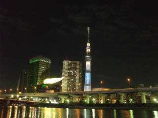 Sumida-gawa, the Sumida River.