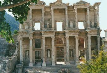 Library of Celsus at Ephesus.