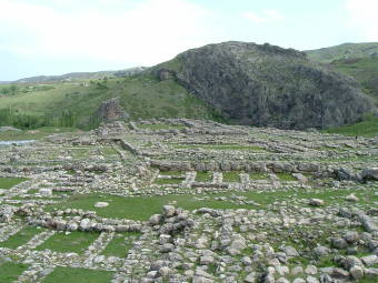 Ruins of the Hittite Empire capital of Hattusha.