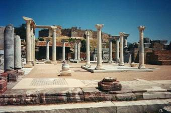 The Basilica of Saint John at Selçuk, near Ephesus.