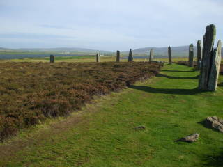 Neolithic Orkney: Maeshowe, the Ring of Brodgar, the Stones of Stenness, the Knowe of Onston.