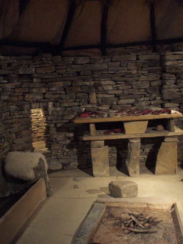 Neolithic Village At Skara Brae