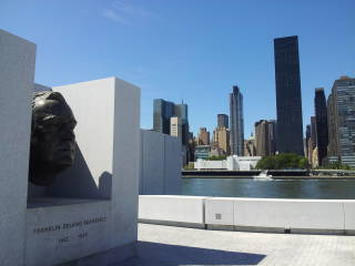 Franklin Delano Roosevelt Four Freedoms Park in New York.