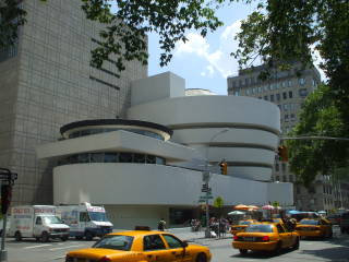 The Solomon R. Guggenheim Museum is on the Upper East Side.