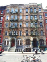 The 'Physical Graffiti' buildings at #96-98 St Marks Place