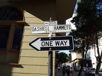 Dashiell Hammett Way in San Francisco.